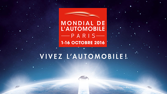 114. međunarodni salon automobila u Parizu, 2016.
