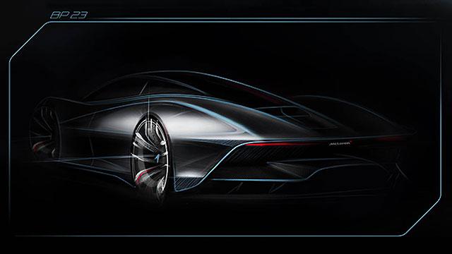 McLaren BP23 za 2,3 milijuna Eura