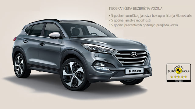 Hyundai Tucson 1.7 CRDi uz bogate pakete opreme Style i financiranje s 0% kamata