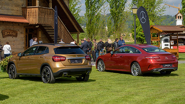 Mercedes-Benz E klasa Coupé, E klasa All Terrain i GLA facelift