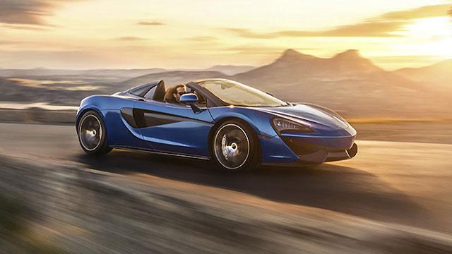 McLaren predstavio 570S Spider
