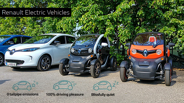 Renault Zoe & Twizy