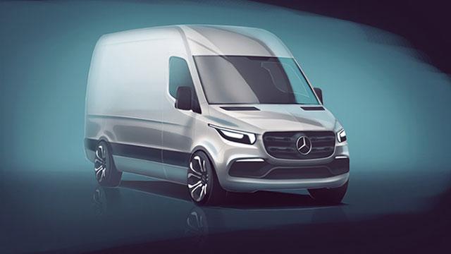 Mercedes-Benz najavio novu generaciju Sprintera