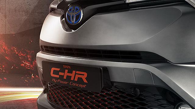 Toyota za Frankfurt najavila konceptni C-HR Hy-Power i novi Land Cruiser