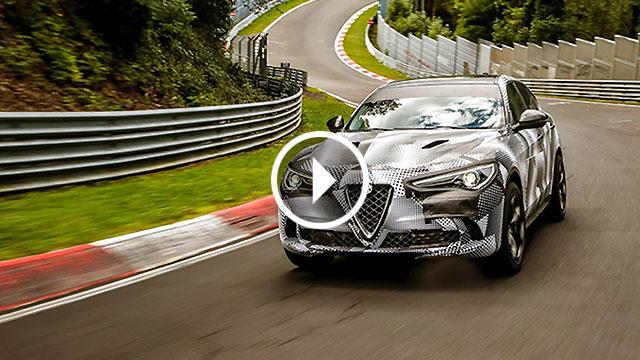 Alfa Romeo Stelvio Quadrifoglio novi rekorder Nürburgringa