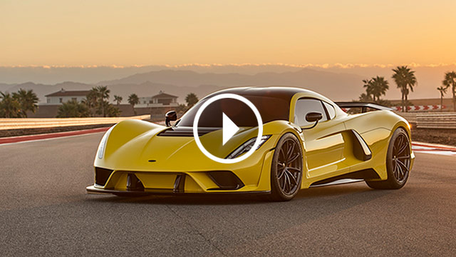 Predstavljen Hennessey Venom F5: 484 km/h!