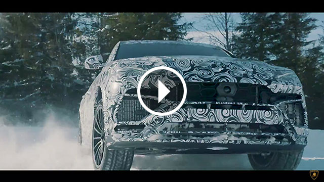 Lamborghini objavio nove video teasere modela Urus