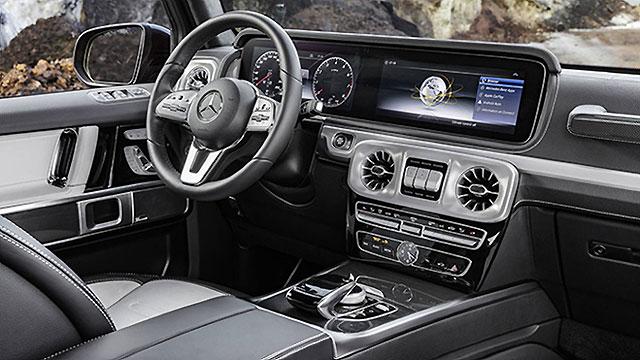 Mercedes-Benz predstavio interijer nove G klase
