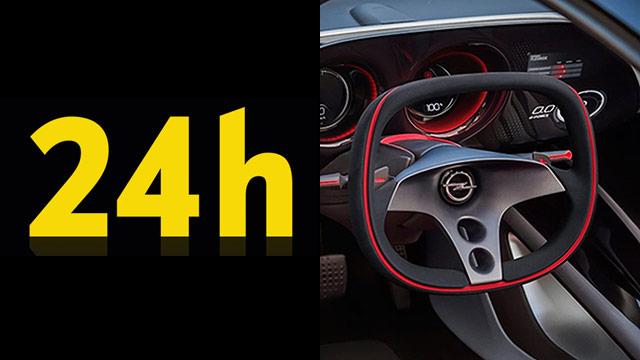 Opelova 24 sata, od sutra u podne!