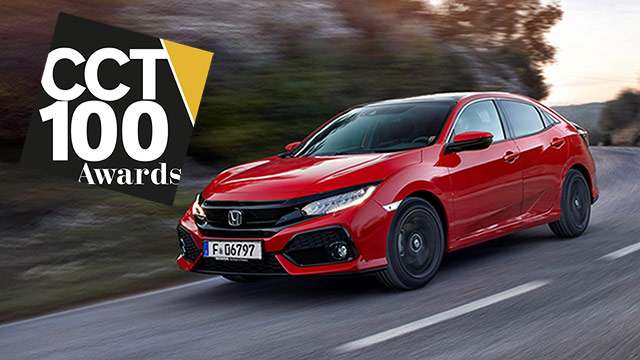 Honda Civic osvojila titulu Best Company Car u svojoj klasi