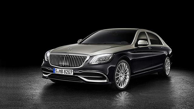 Predstavljena osvježena Mercedes-Maybach S klasa