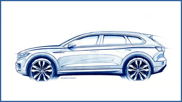 Premijera novog Volkswagen Touarega sve je bliže