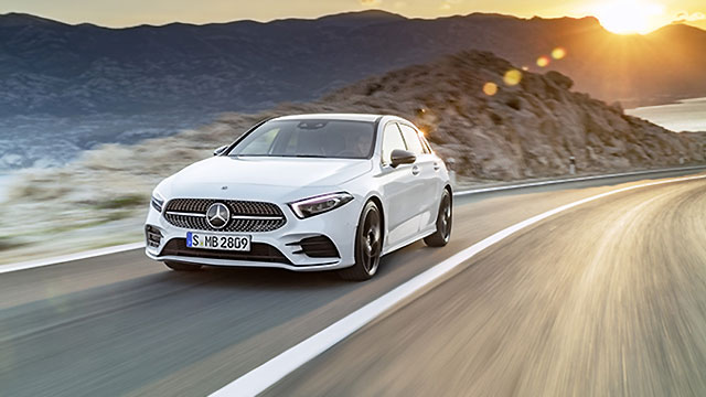 Mercedes-Benz – kompaktna obitelj s osam članova