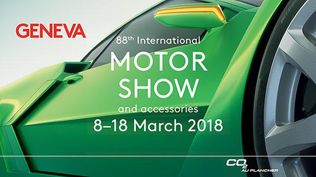 88. međunarodni salon automobila u Ženevi, 2018.
