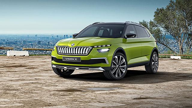 Škoda Vision X – vizija novog crossovera