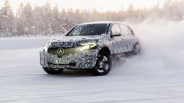 Merceces-Benz EQC – završio zimska testiranja
