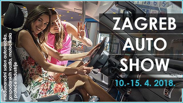 15. Zagreb Auto Show, 2018.