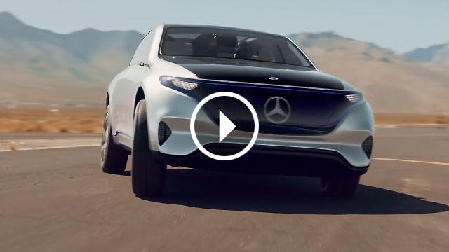 Mercedes-Benz Concept EQ – električna tišina