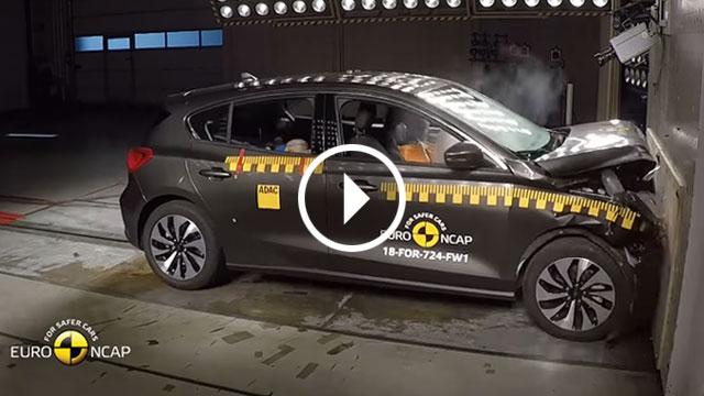 Euro NCAP – Volvo XC40 i Ford Focus