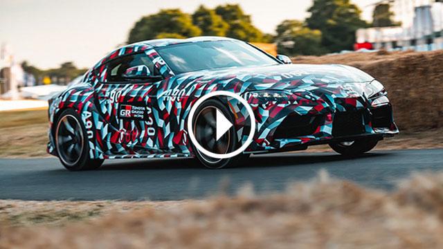 Toyota Supra – još ju ne možete vidjeti, ali ju možete čuti