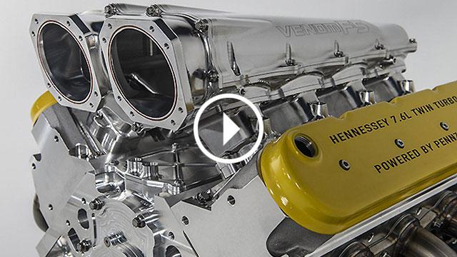 Hennessey predstavio 7,6-litreni V8 snage preko 1600 KS