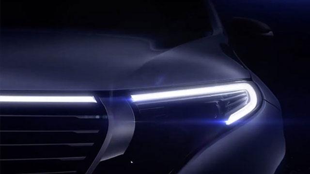 Mercedes-Benz EQ C pokazao svoje lice