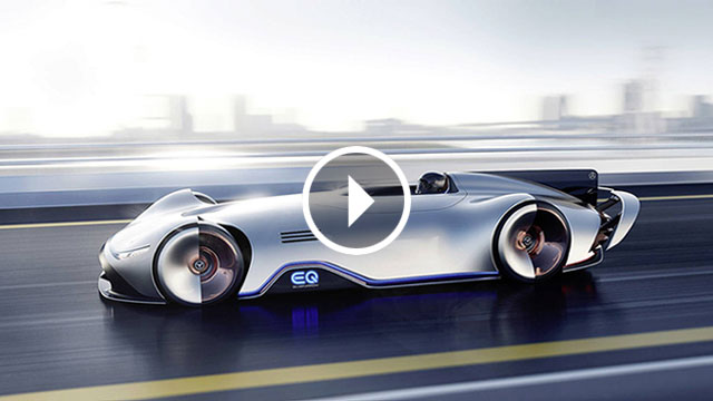 Mercedes-Benz predstavio EQ Silver Arrow