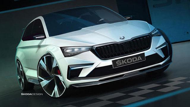 Škoda Scala RS s hibridnim pogonom?