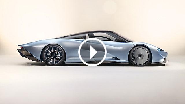 McLaren predstavio Speedtail – duhovnog nasljednika modela F1