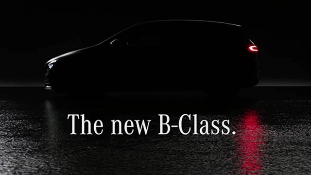 Mercedes-Benz najavio B klasu