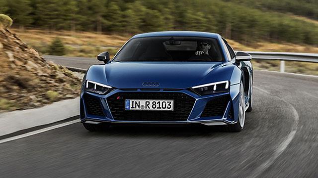 Audi R8 samo s V10 motorom