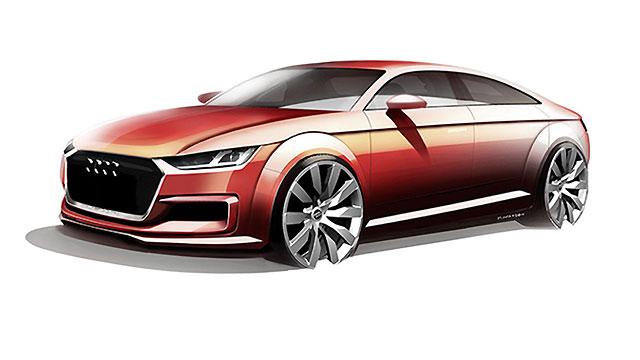 Sljedeći Audi TT kao kupeovska limuzina?
