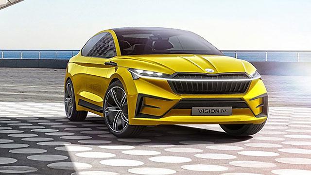 Škoda Vision IV – najava električnog coupe SUV-a