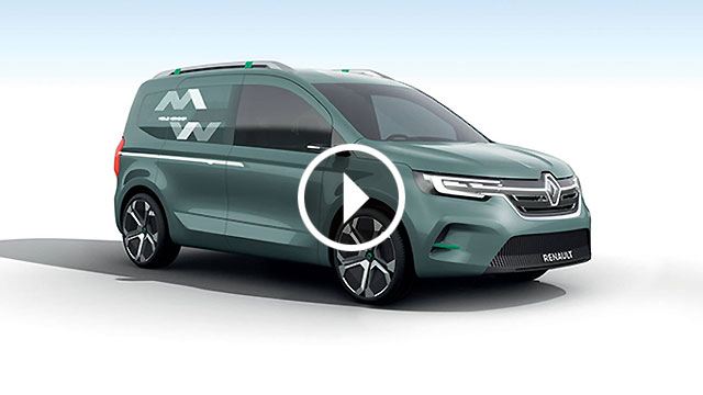 Renault predstavio konceptni Kangoo Z.E.