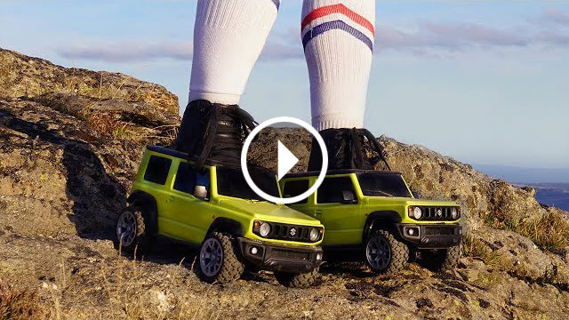 For fun's sake – Suzuki Jimny role