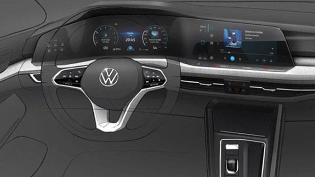 Volkswagen objavio nove skice Golfa VIII