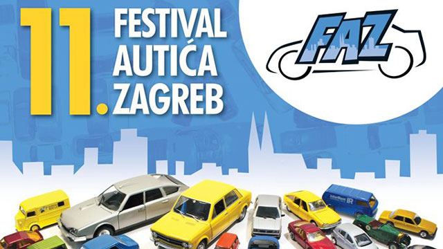 Ove subote je 11. FAZ – Festival autića Zagreb