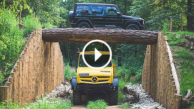 Mercedes-Benz G klasa i Unimog demonstriraju svoje sposobnosti