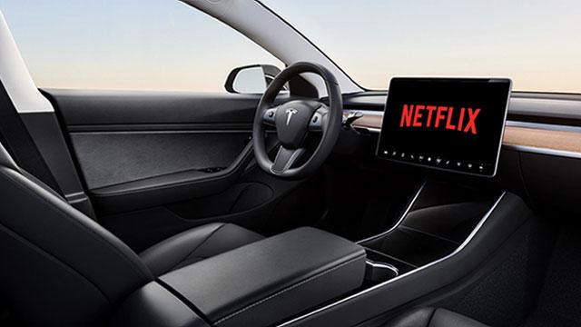 Tesla će nuditi pristup Netflixu i YouTubeu