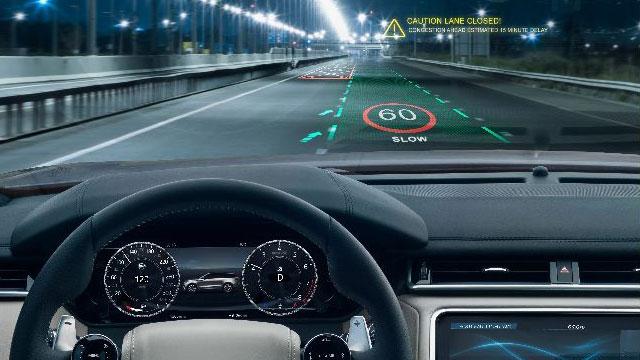 Jaguar Land Rover razvija 3D head-up zaslon