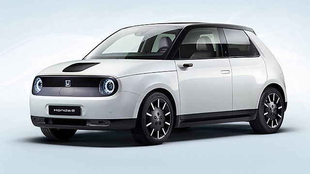 Predstavljena produkcijska izvedba modela Honda e