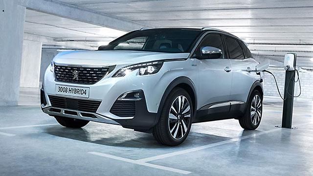 Peugeot 3008 GT Hybrid4 – 300 KS i 60 km električne autonomije