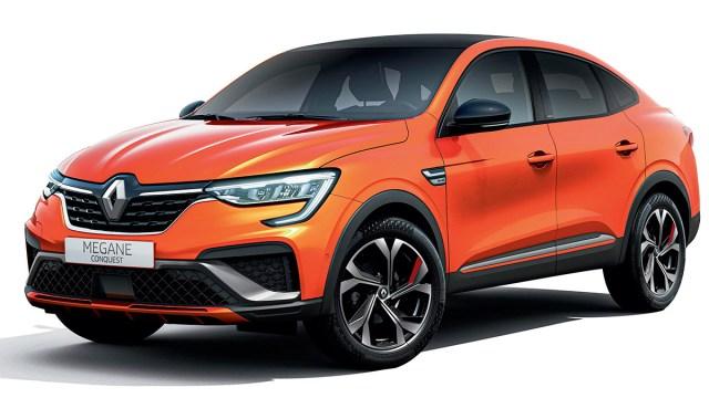 Renault Megane Conquest 'napada' luksuzne SUV coupe modele