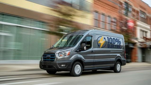 Predstavljen potpuno električni Ford E-Transit