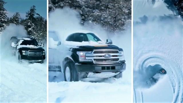 Električni Ford F-150 dobro se snalazi u snijegu