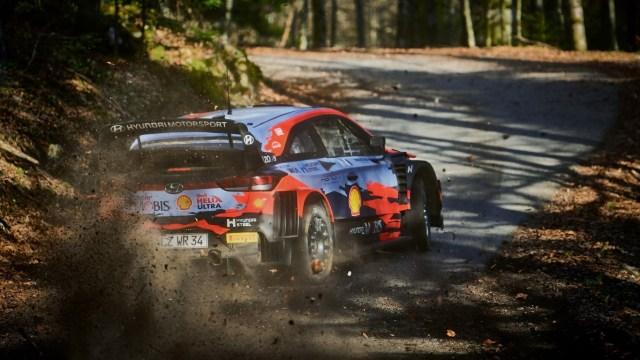 Testne vožnje po lokalnim cestama prije Croatia Rallyja