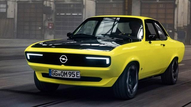 Opel razotkrio Mantu GSe ElektroMOD