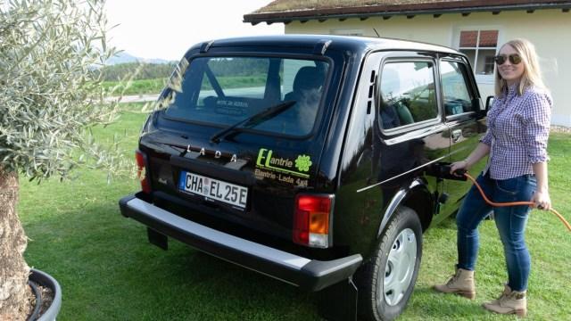Konverzija Lade Nive na električni pogon za samo 2.800 eura