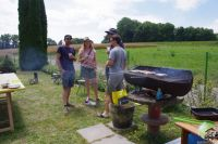 BBQ en action !