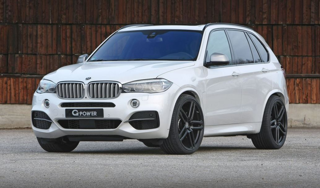 Discreto pero contundente Ms de 450 CV para el BMW X5